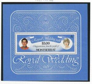 Montserrat souvenir sheet mnh  SC  471