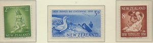 New Zealand Stamps Scott #323 To 325, Mint Hinged - Free U.S. Shipping, Free ...