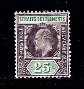 Straits Settlements 99 MH 1902 issue