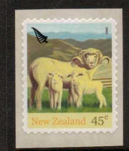 NEW ZEALAND SG2763 2005 FARM ANIMALS S/A  MNH