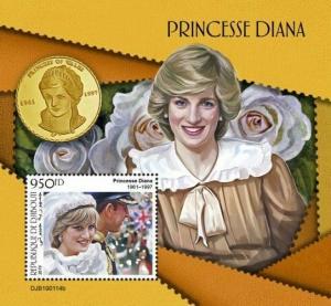 Z08 DJB190114b DJIBOUTI 2019 Princess Diana MNH ** Postfrisch