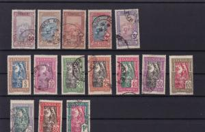 tunisia 1906 - 26 parcel post mounted mint and used  stamps ref r15105