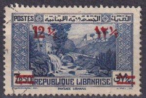 Lebanon #151 F-VF Used  (S10277)