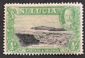 DYNAMITE Stamps: St. Lucia Scott #95 – MINT hr