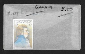 GAMBIA Sc#1334 Mint Never Hinged
