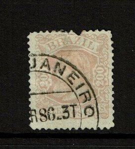 Brazil SC# 81, Used, creased - S11147