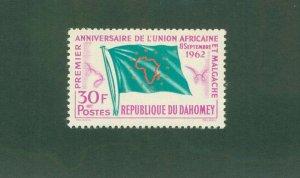 DAHOMEY 155 MNH BIN$ 1.25