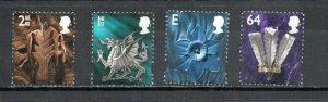Great Britain - Wales 13-16 MNH