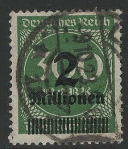 Germany Reich Scott # 270, used, exp h/s