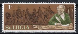 St Lucia; 1970: Sc. # 278: **/MNH Single Stamp