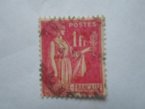 FRANCE STAMP USED VG CON. SC# 278
