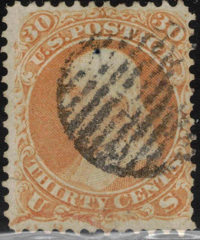 United States #71, Used, 2017 SCV $190