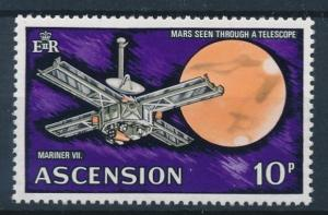 [64204] Ascension 1971 Space Travel Weltraum Mariner 7 From Set MNH