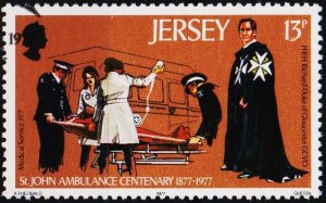 Jersey. 1977 13p S.G.178 Fine Used