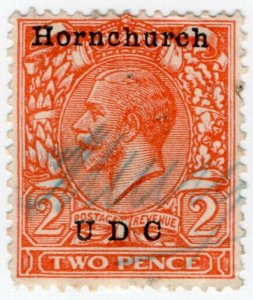 (I.B) George V Commercial Overprint : Hornchurch Urban District Council