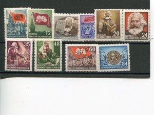 GDR #137-46  Mint VF NH -  Lakeshore Philatelics