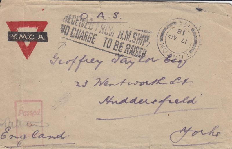 Kite Balloon Base #3, YMCA Cover, Censored, See Remark (M1660)