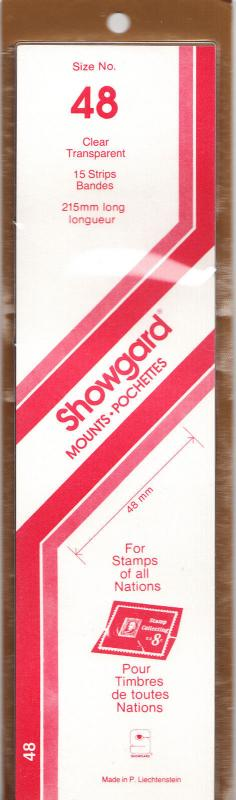 SHOWGARD CLEAR MOUNTS 215/48 (15) RETAIL PRICE $9.75