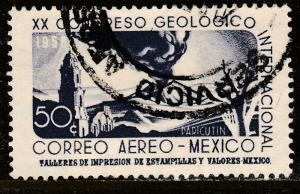 MEXICO C235, 25c Interamerican GEOLOGICAL Cong. Used. F-VF. (1104)