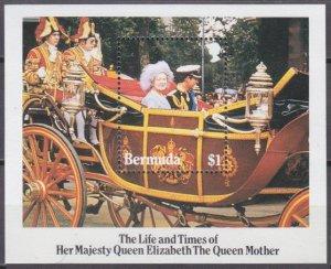 1985 Bermuda 462/B5 85 years of the coronation of Elizabeth 6,00 €