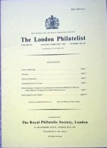 BRITISH GUIANA Comments on a Display from the ROYAL PHILATELIC COLLECTION