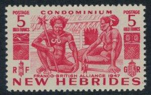 New Hebrides, Br. #76* CV $10.00