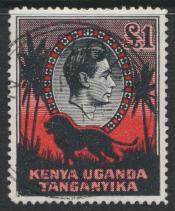 Kenya Uganda Tanganyika KUT - Used  - SG 150a SC#85 -   perf 14 -   see details
