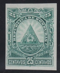 Honduras 1890 25c Green Colour Trial Plate Proof. Scott 45 var