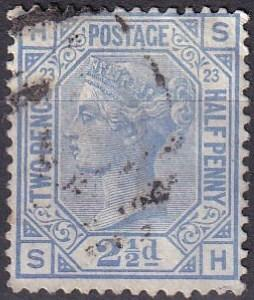 Great Britain #82 Plate 23   F-VF Used CV $32.50   (A19978)