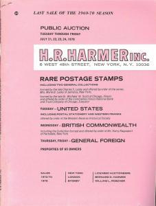 HR Harmer: Sale # 1972-1975  -  Rare Postage Stamps: Unit...