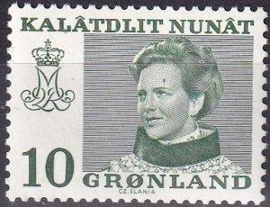 Greenland #87 MNH