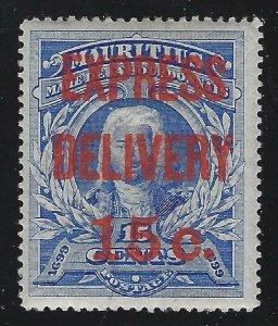Mauritius 1903 15c Special Delivery overprint Sc# E1 mint