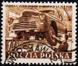 Poland. 1952 1z15 S.G.795 Fine Used