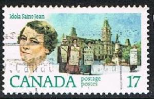 CANADA 1702116 - 1981 Canadian Feminists used single