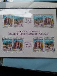 Monaco block 1990 Yvert BF52 Cat. € 30