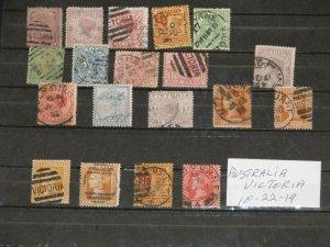 Australia, Victoria Scott#`s 128, 162a, 163, 172, 110, 117, 160, 160a, 162a,