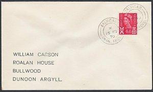 GB SCOTLAND 1970 cover BALVICR  / OBAN ARGYLL cds...........................k639