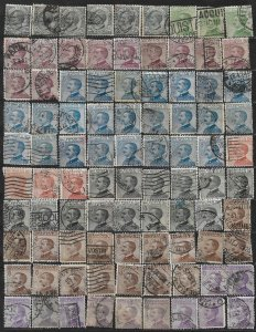 COLLECTION LOT OF 175 ITALY 1908+ STAMPS CLEARANCE CV+ $67 2 SCAN