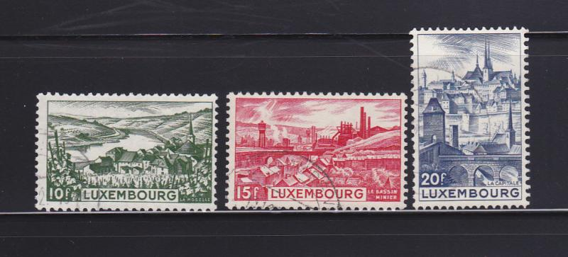 Luxembourg 247-249 U Views (B)