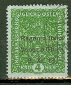Austria N16 used CV $1250