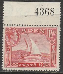 Aden   1939  Scott No. 19  (N**)