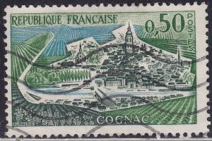 France 1010 View of Cognac 1961