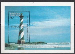 Barbuda, Sc 1689, MNH, 1998, Lighthouse