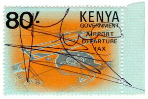 (I.B) KUT Revenue : Kenya Airport Departure Tax 80/-