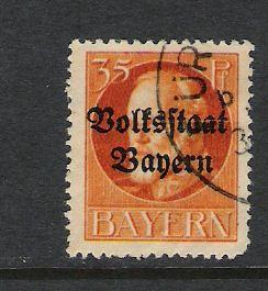 GERMANY BAVARIA 144 VFU K242