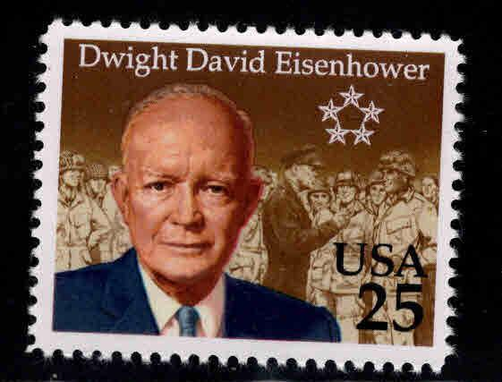 USA Scott 2513 MNH Eisenhower Stamp