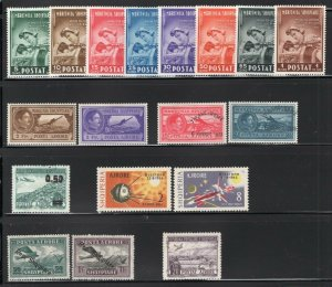 Albania 1927-64 Selection of 17 Better Mint Stamps