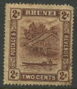 STAMP STATION PERTH Brunei #44 Definitive Issue Used 1924