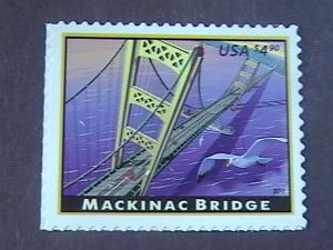 U.S.# 4438-MINT/NEVER HINGED--AMERICAN LANDMARKS/MACKINAC BRIDGE-2010