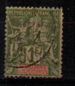 New Caledonia Scott 58 Used (Catalog Value $26.50)